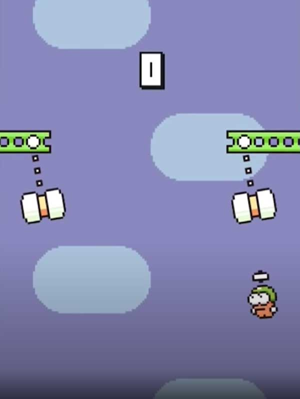 Giao diện Game Swing Copters apk