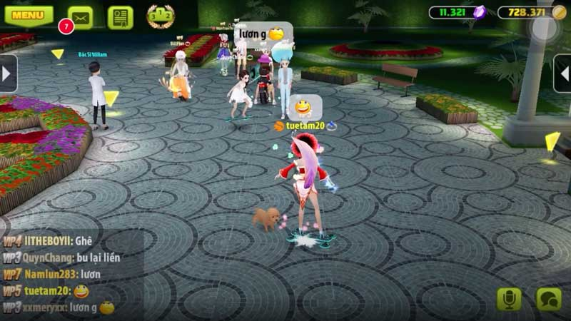 Giao diện game Avatar Musik apk cho Android
