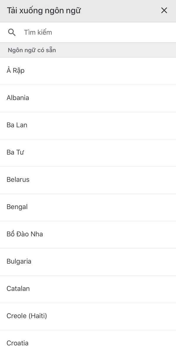 Tải ứng dụng Google Dịch cho điện thoại