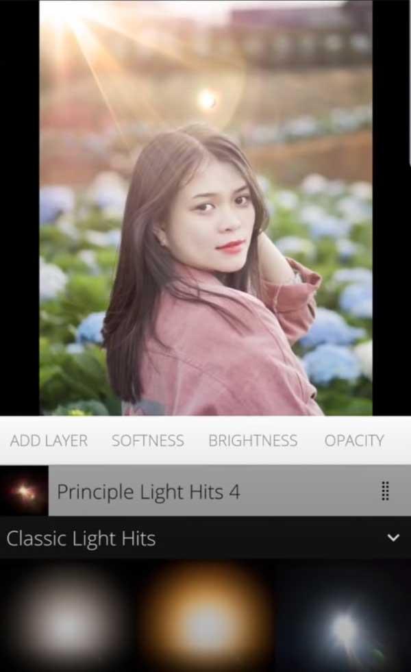 Chỉnh ảnh bằng App Snapseed