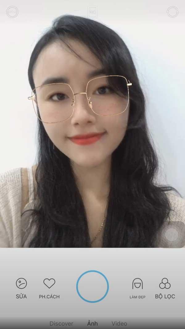 Chụp ảnh chân dung không cần Makeup với app Soda